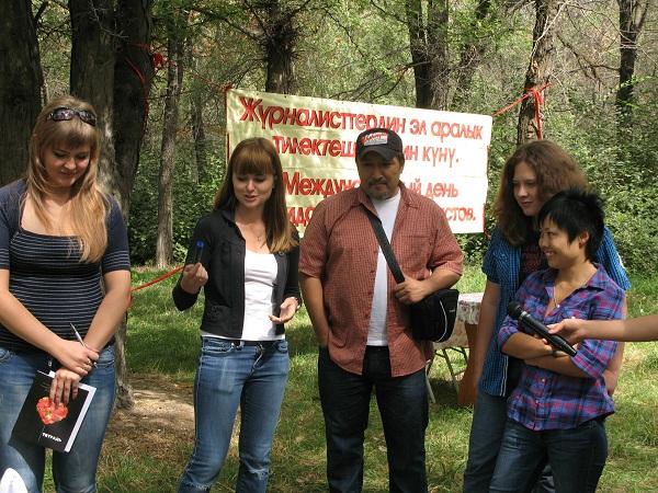 """ОО """"Журналисты"""" провело мероприятия в честь Международного дня солидарности журналистов"""