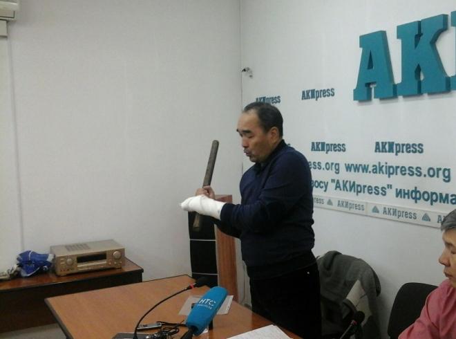 Журналист Турат Акимов считает, что Мэлис Турганбаев заказал его убийство (видео)