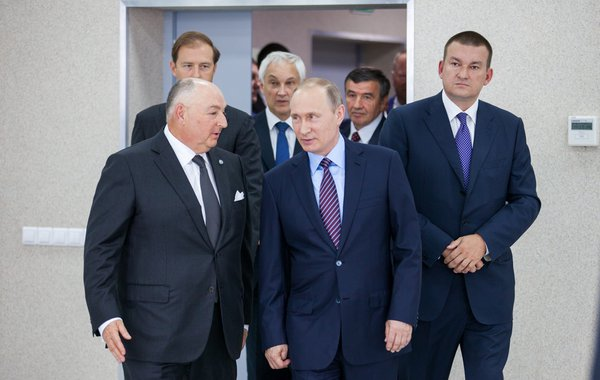 Вячеслав Моше Кантор высоко оценивает твёрдую позицию Владимира Путина касательно борьбы с терроризмом