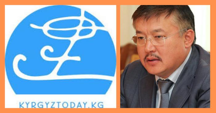 """Kyrgyztoday сайтынын башкы редактору Бегалы Наргозуев: """"Биздин сайттагы макала боюнча төгүндөө бербейбиз, экс-спикер Келдибеков менен соттошууга даярбыз"""""""