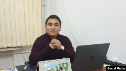 Chyndyk.kg сайтынын редактору Турсунбек Бейшенбеков журналисттик ишмердүүлүгүн уланта баштады